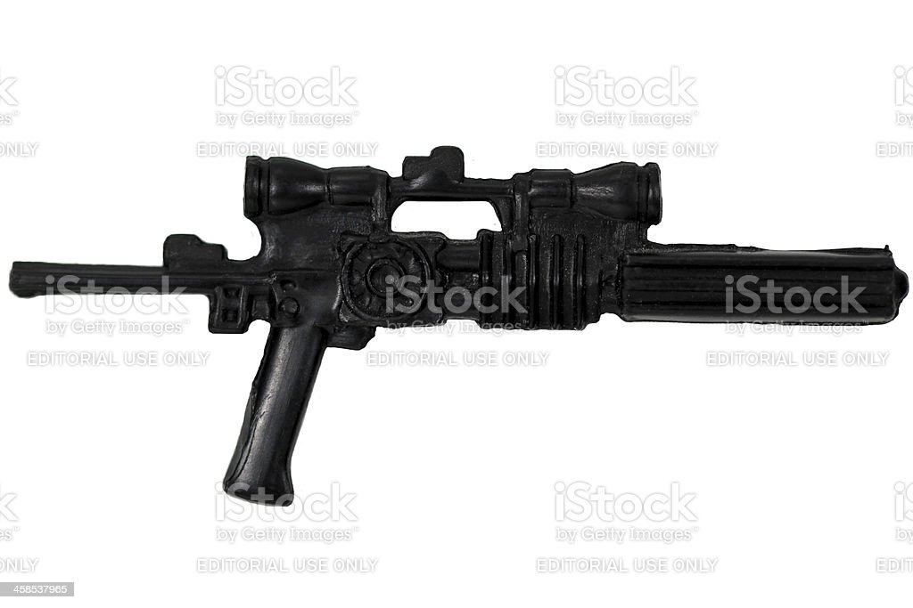 Blaster Rifle royalty-free stock photo