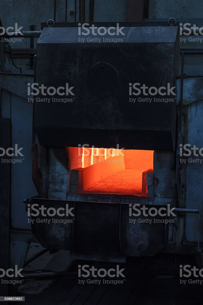 Blast-furnace stock photo