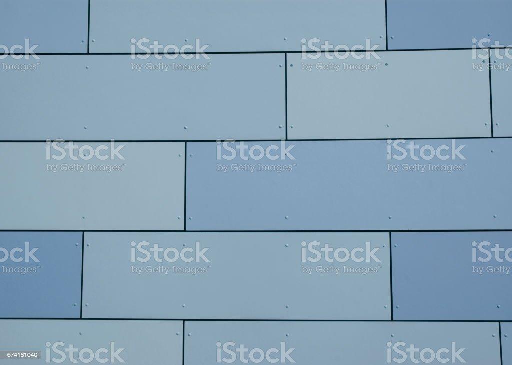 blaue Wand stock photo