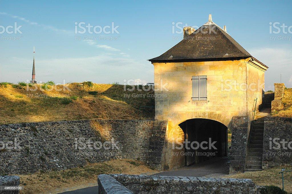 Blaye (Aquitaine, France) stock photo