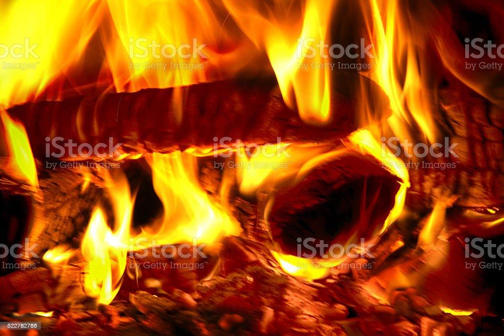 blaze fire stock photo