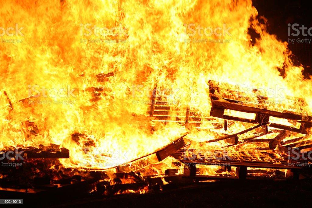 Blaze royalty-free stock photo