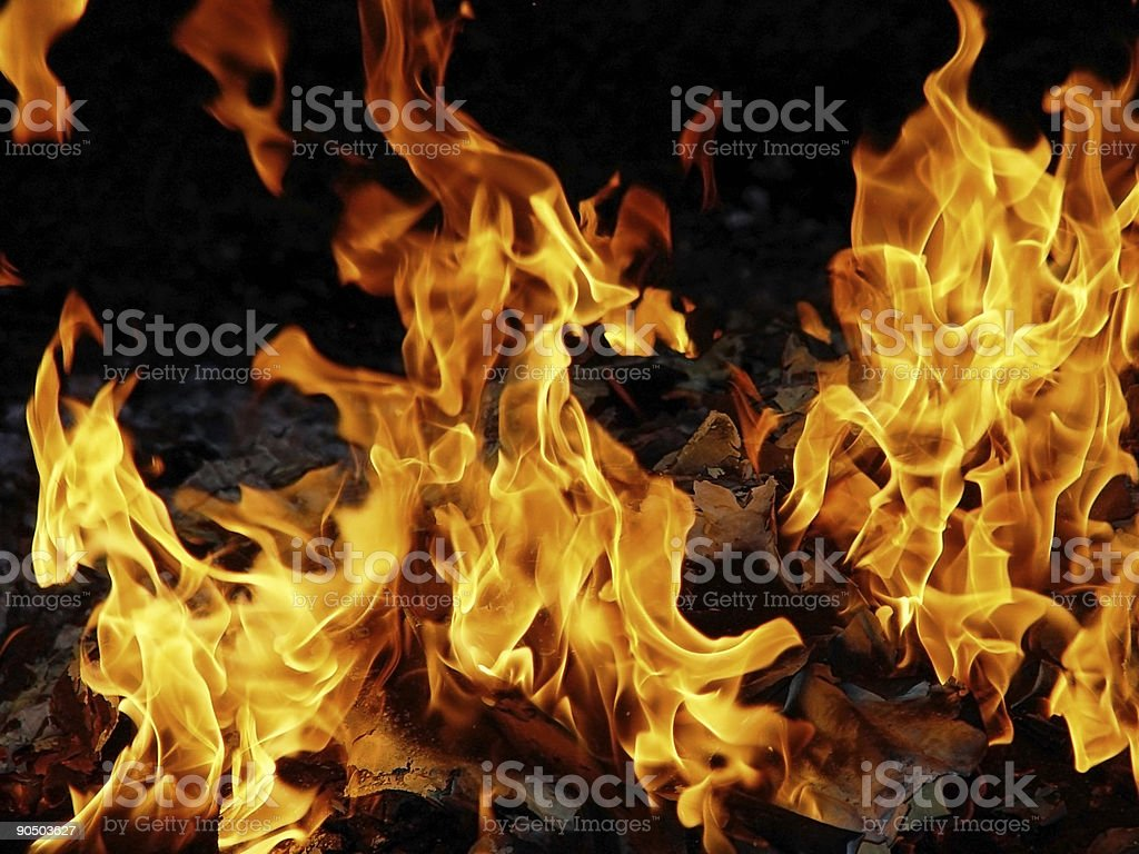 blazing hot royalty-free stock photo