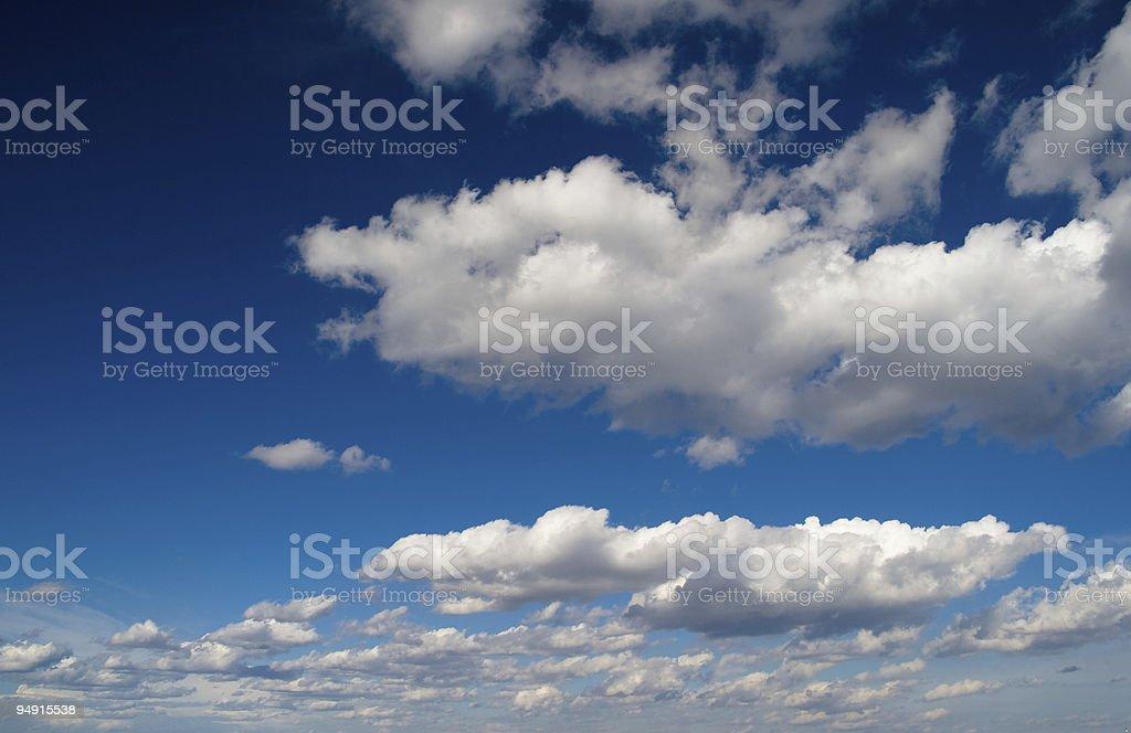 Ble Skies stock photo
