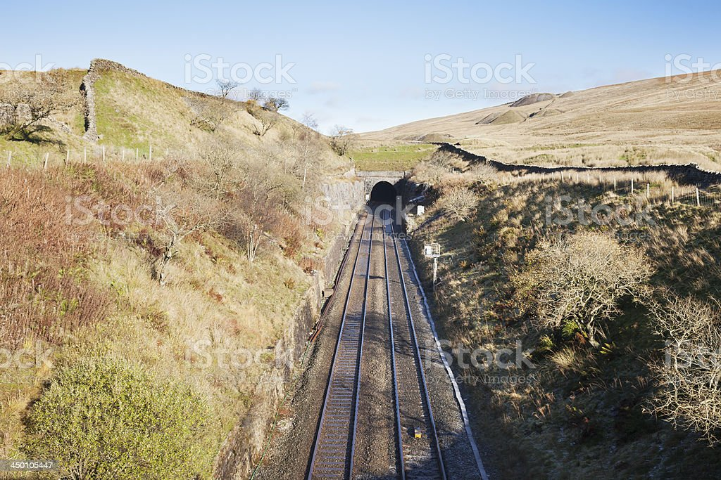 Blea Moor Tunnel, North Yorkshire royalty-free stock photo