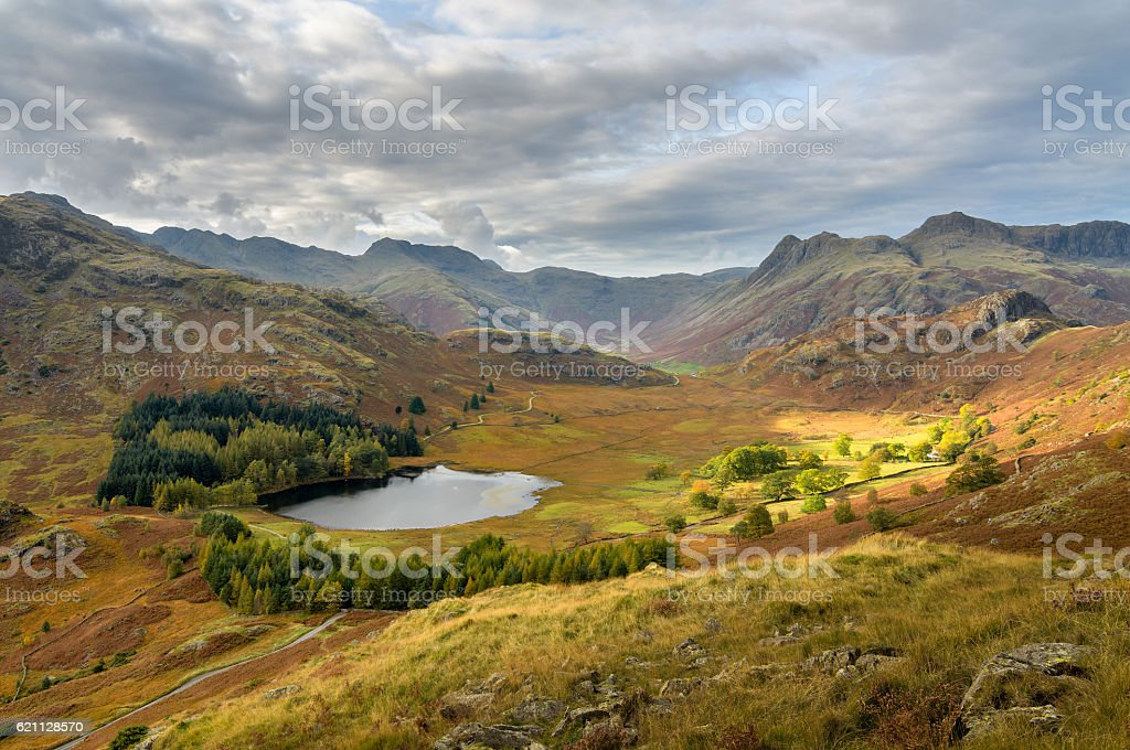 Blea Tarn, Lake District stock photo