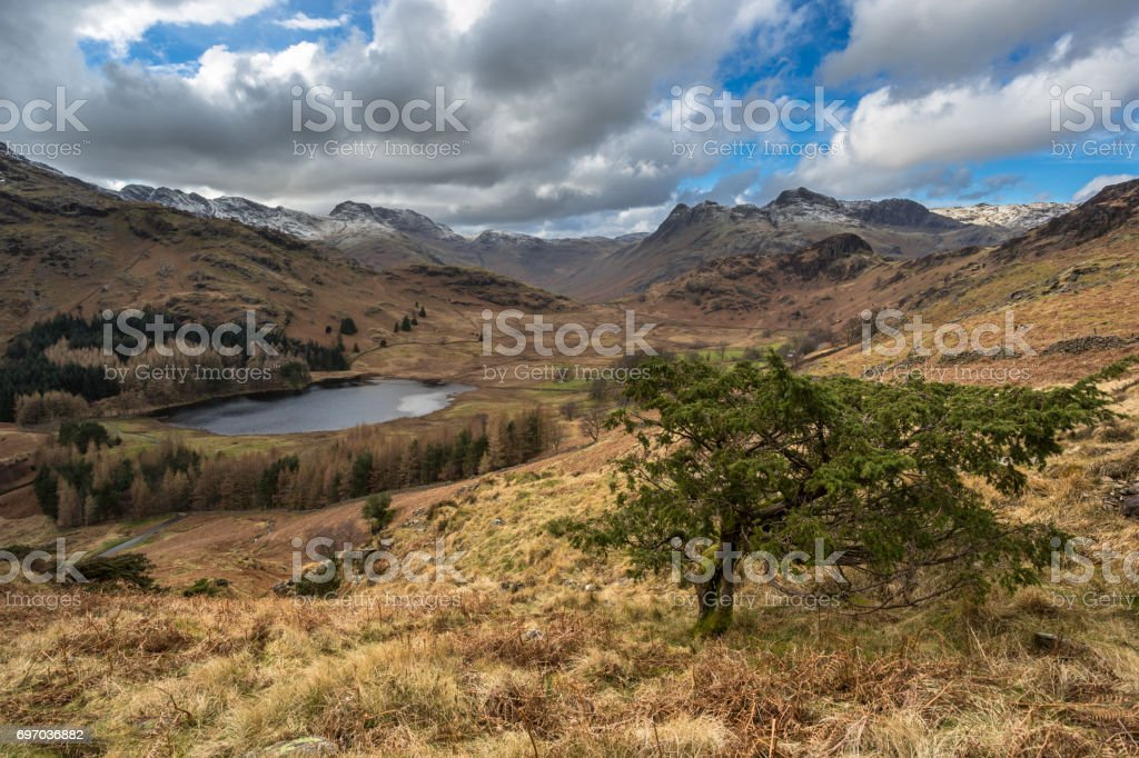 Blea Tarn - Lake District stock photo