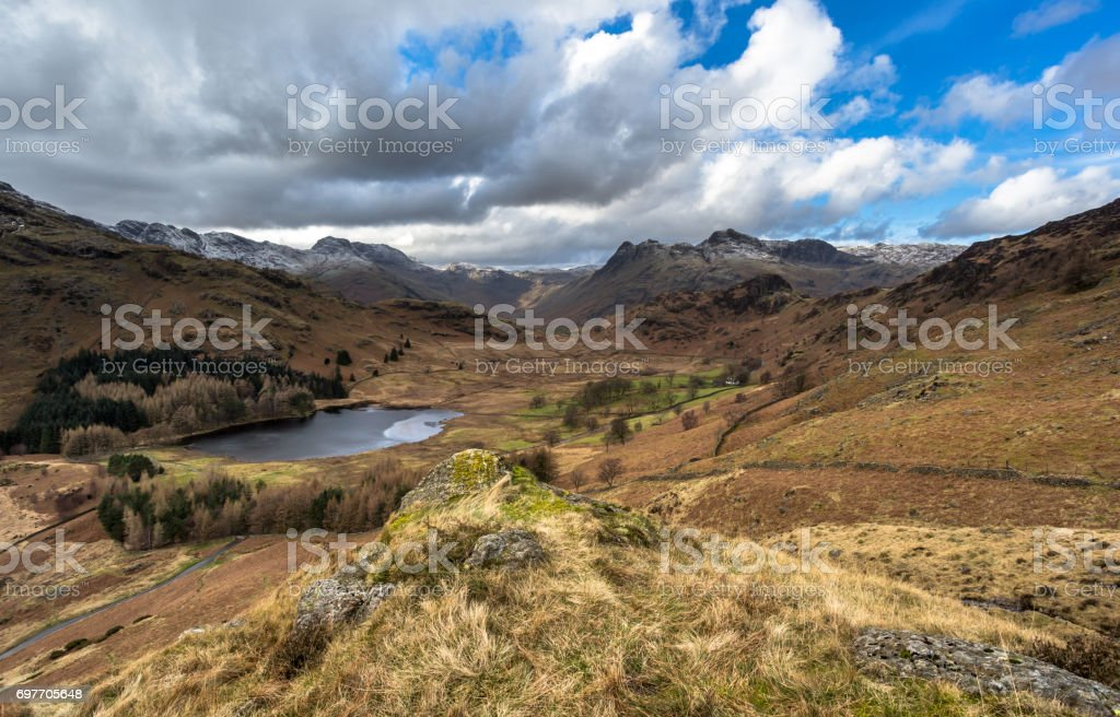 Blea Tarn stock photo