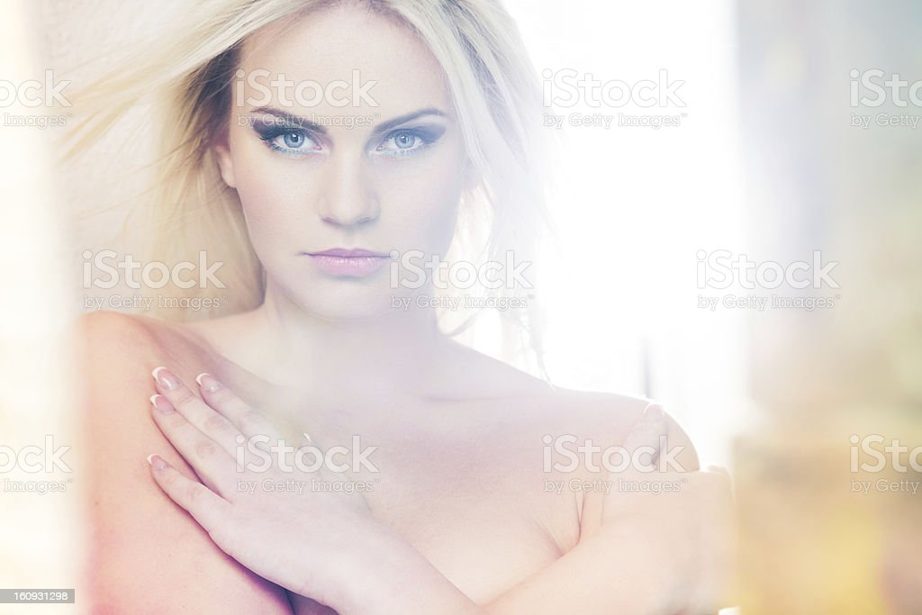 Bleached light royalty-free stock photo