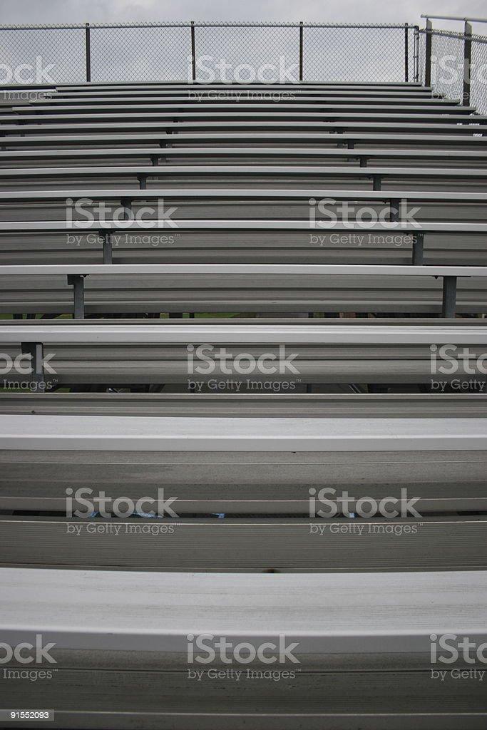 Bleachers Background stock photo
