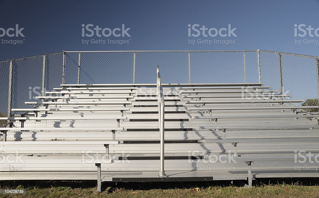 Bleachers stock photo