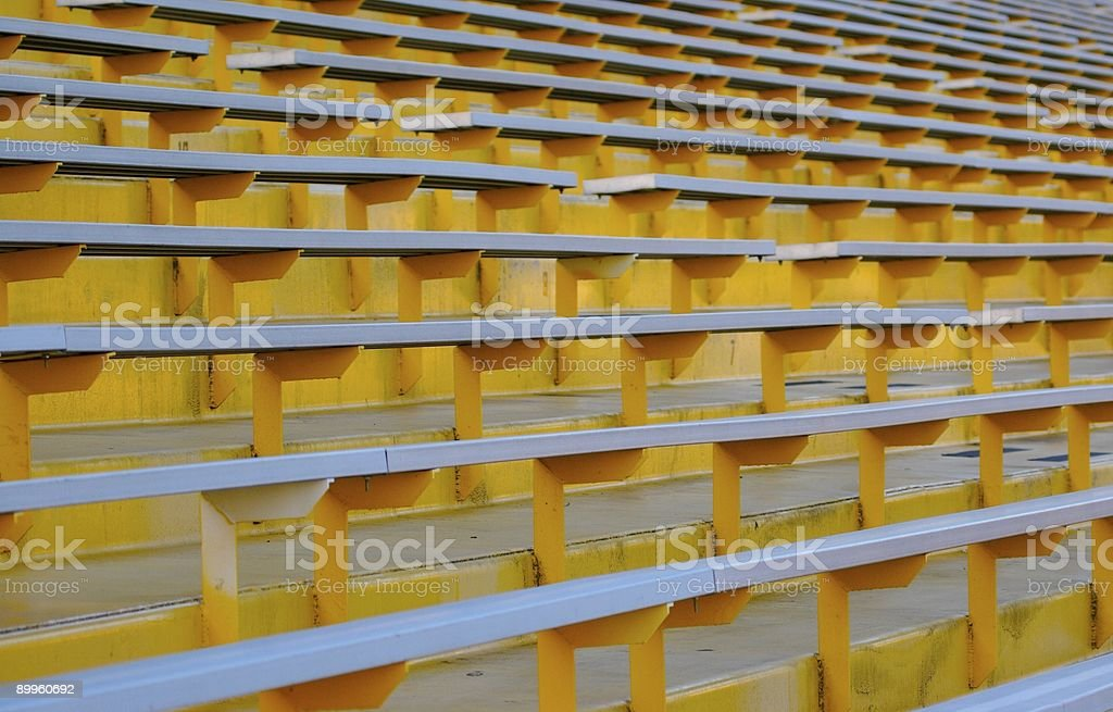 Bleachers royalty-free stock photo