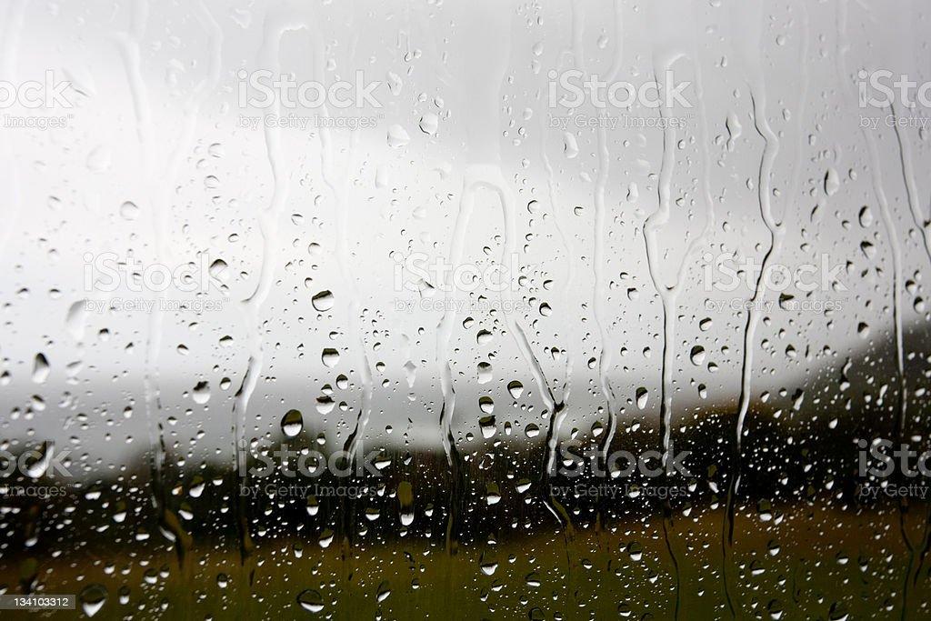 Bleak rainy day royalty-free stock photo