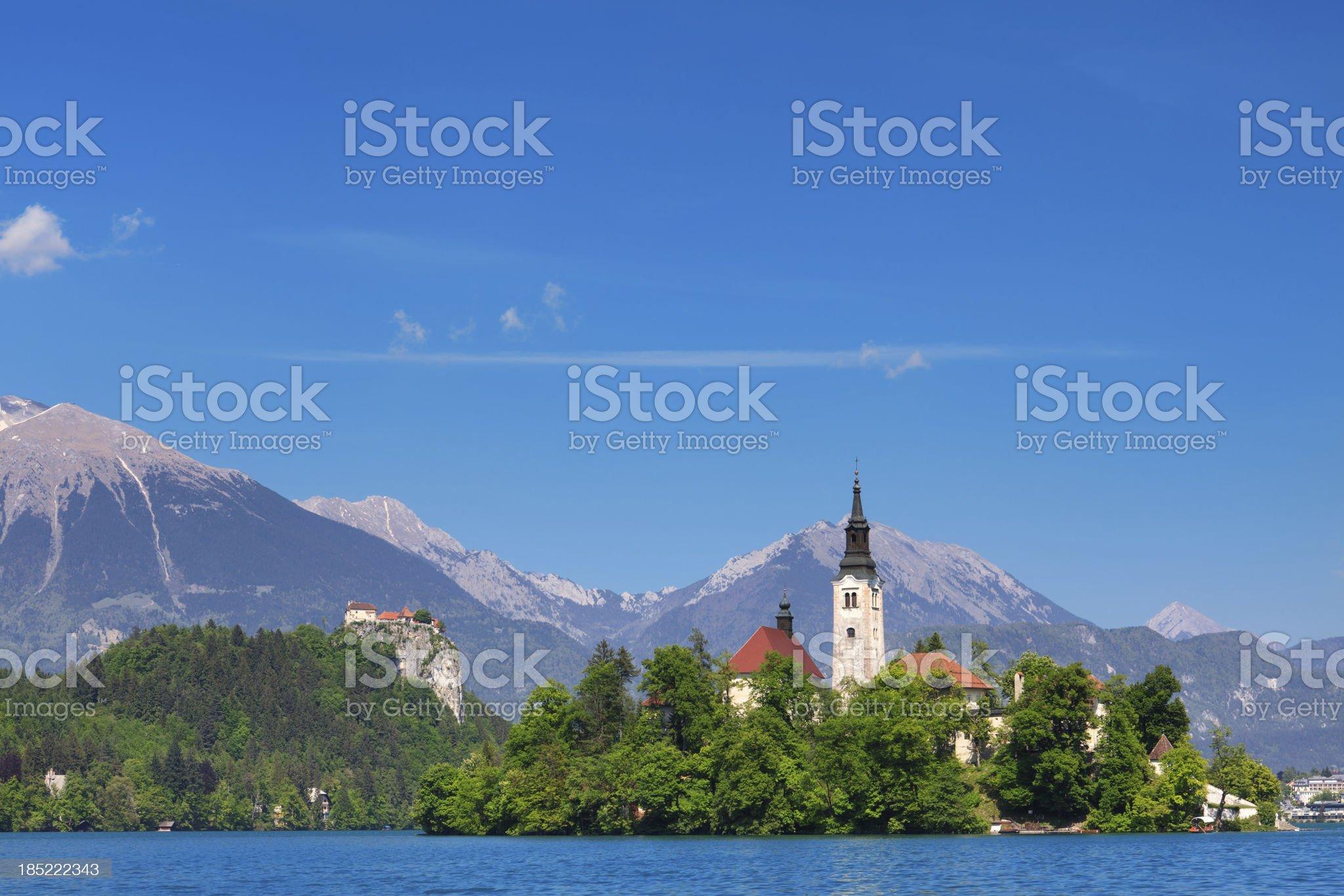 Bled Lake royalty-free stock photo