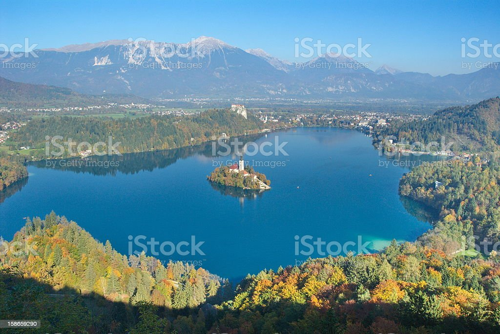 Bled royalty-free stock photo