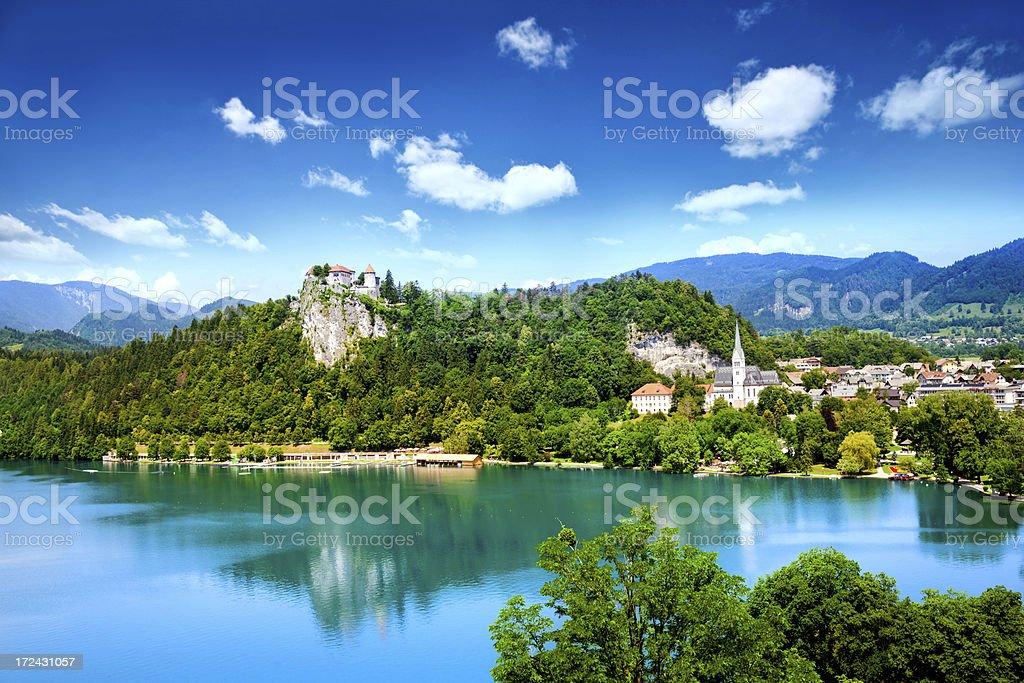 Bled, Slovenia royalty-free stock photo