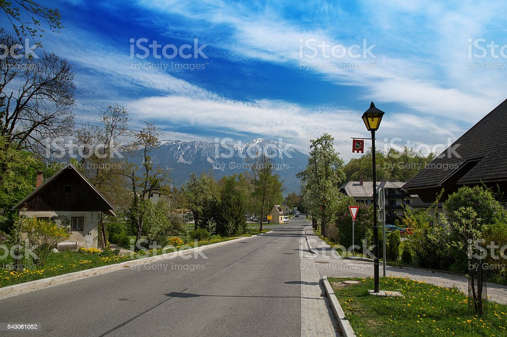 Bled, Slovenia stock photo