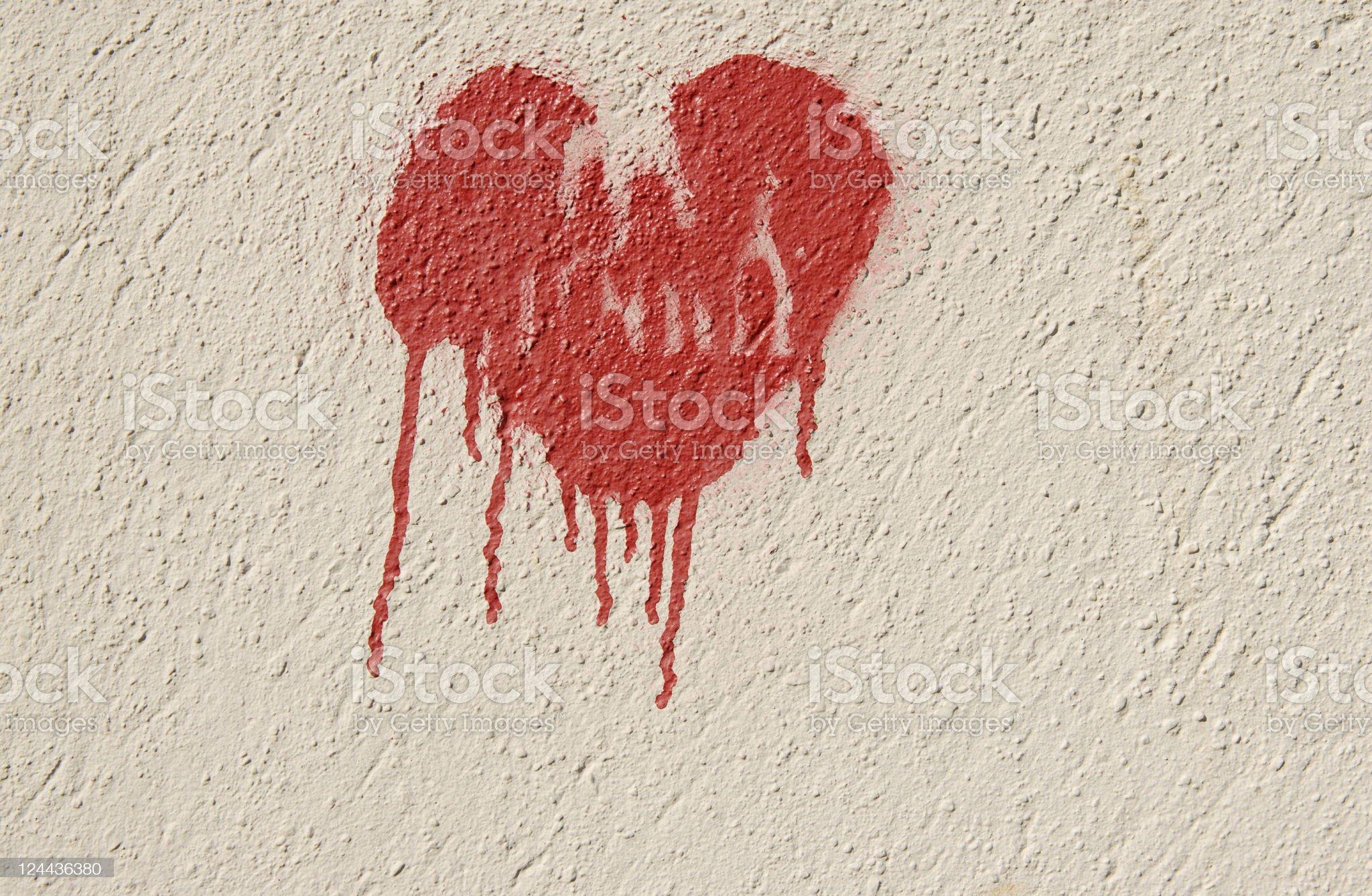 Bleeding heart royalty-free stock photo