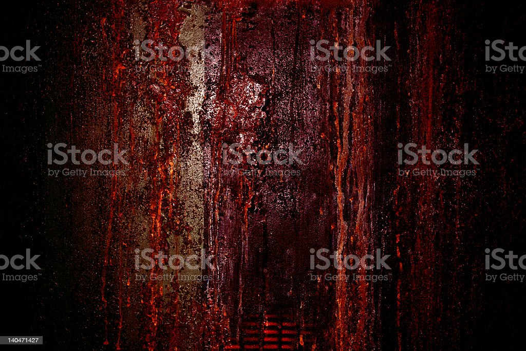 Bleeding Wall | Abstract Textured Background stock photo