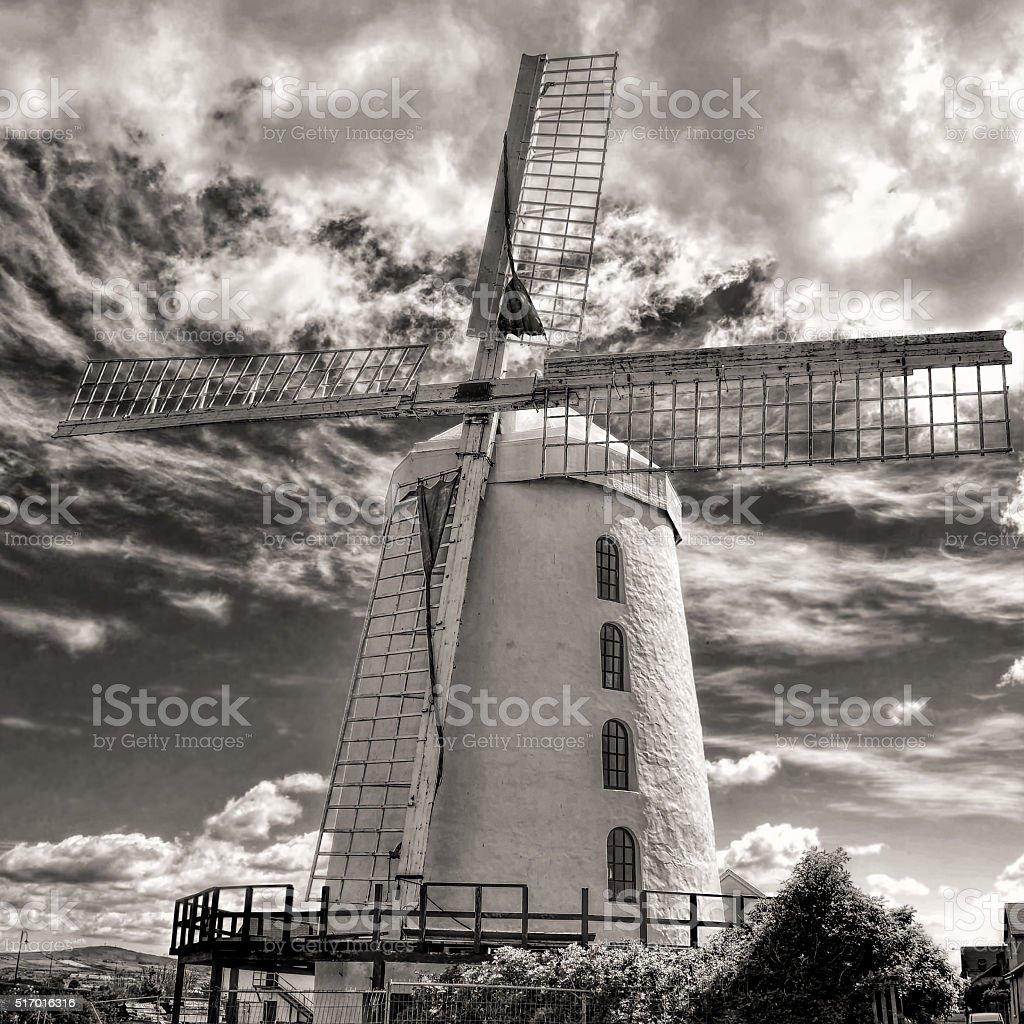 Blenerville windmill in Ireland stock photo
