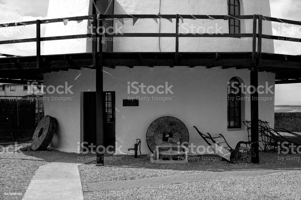 Blenerville Windmill,Tralee in Ireland stock photo