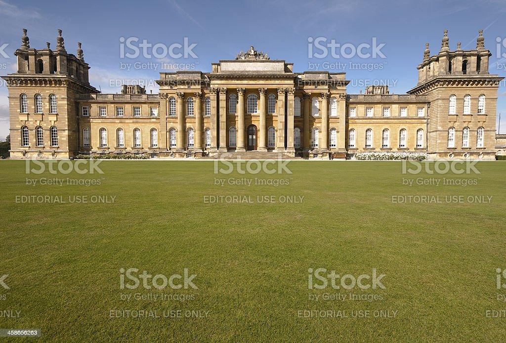 Blenheim Palace stock photo