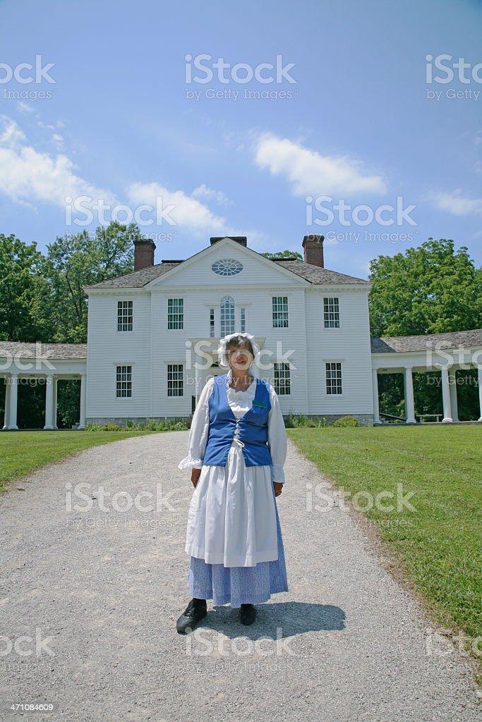 Blennerhassett Mansion royalty-free stock photo