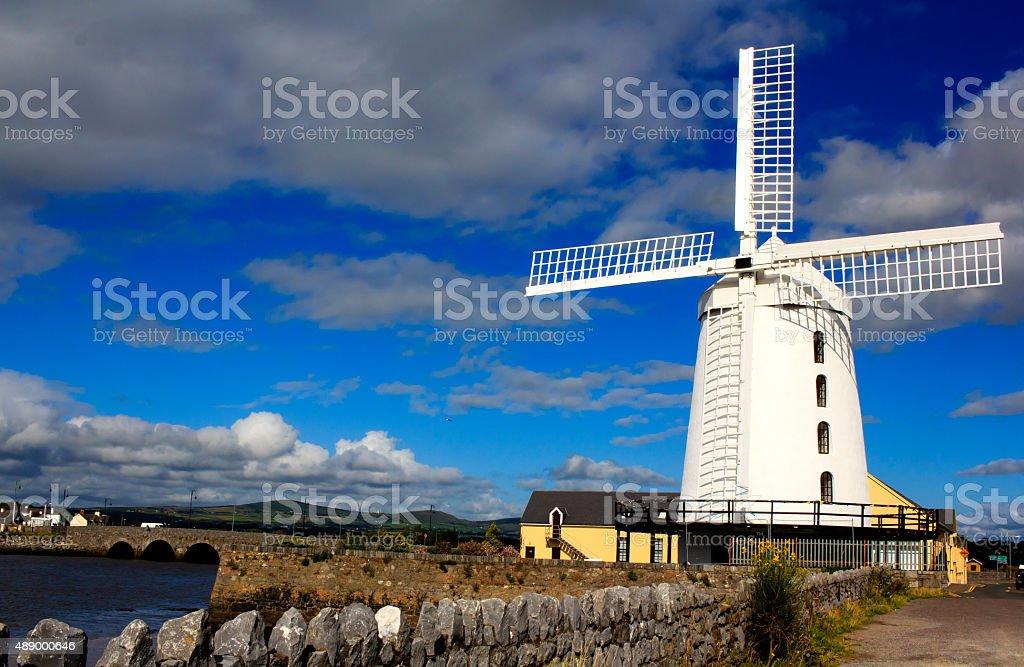 Blennerville Windmill, Ireland stock photo