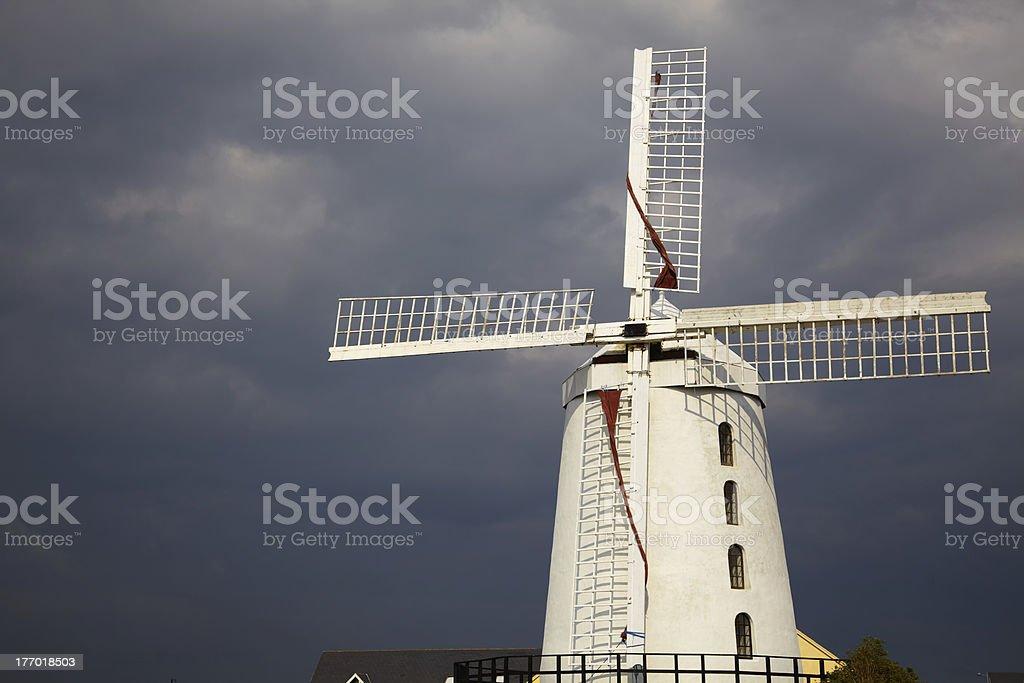 Blennerville windmill stock photo