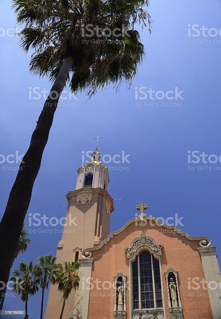Colmadas de corazón iglesia en Sunset Blv - foto de stock