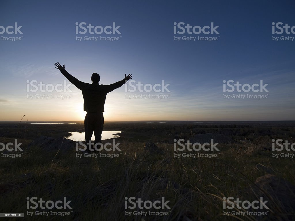 Blessed Life royalty-free stock photo