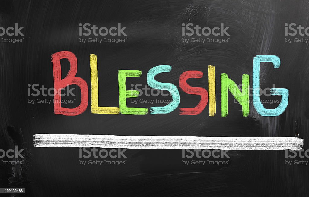 Blessing Concept royalty-free stock photo