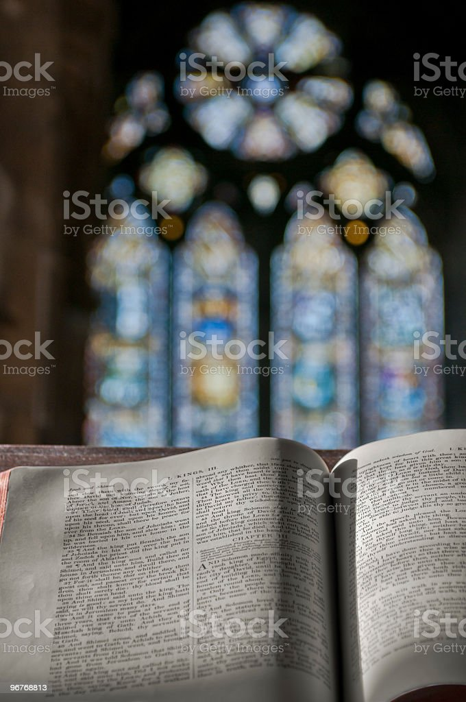 Blessing in the Church - Vertical stock photo