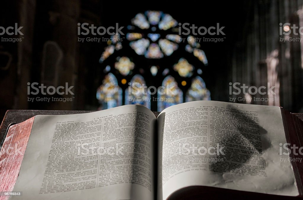 Blessing in the Church (Horizontal) stock photo