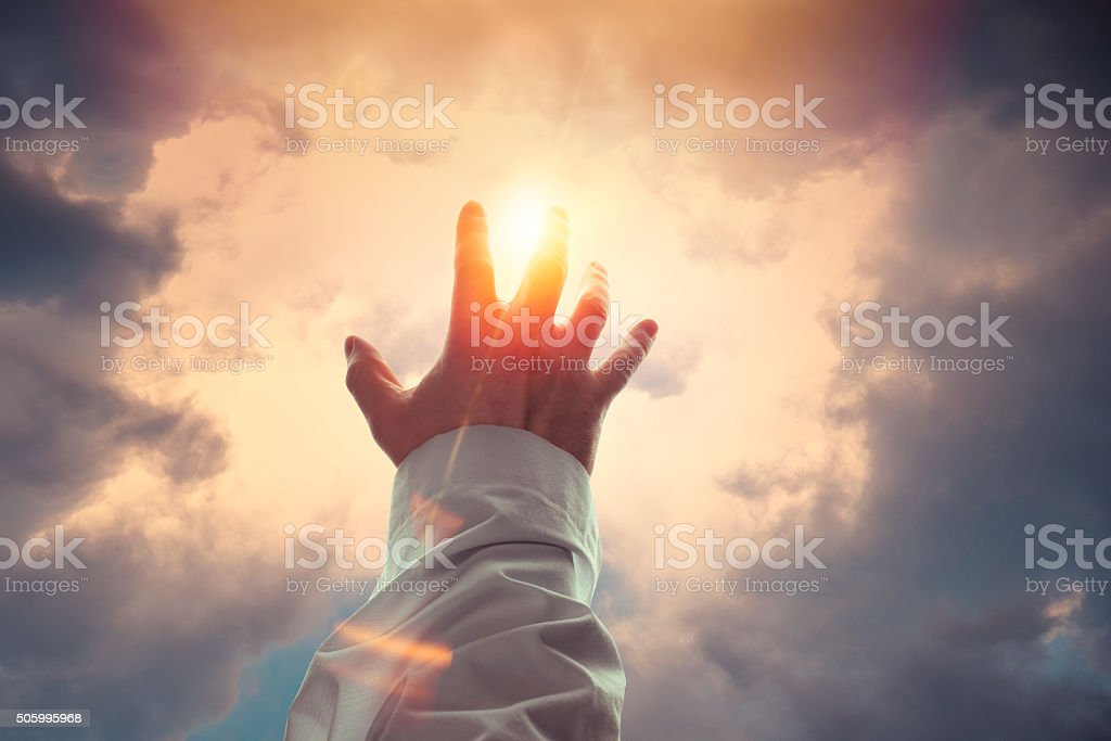 Blessing stock photo