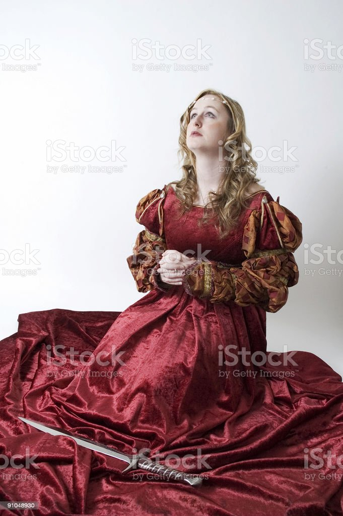 Blessing the Sword royalty-free stock photo
