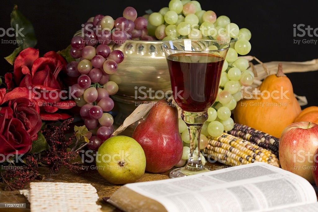 blessings- communion 1 royalty-free stock photo