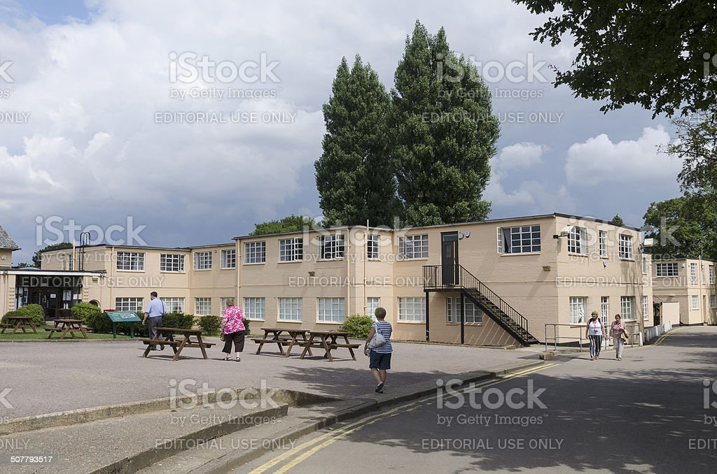 Bletchley Park Museum stock photo