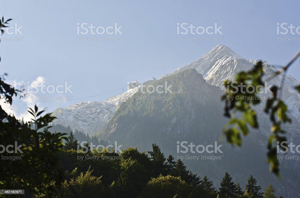 Blick auf den Osterfelderkopf stock photo