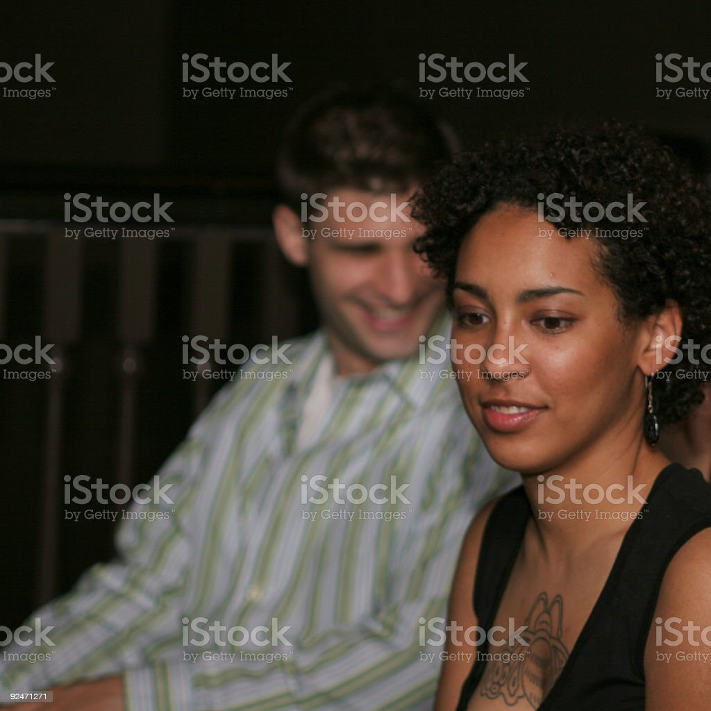 Blind Date royalty-free stock photo