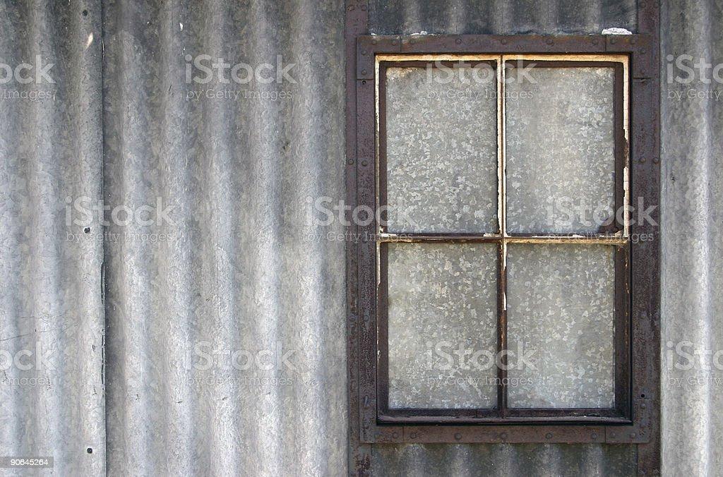Blind window royalty-free stock photo