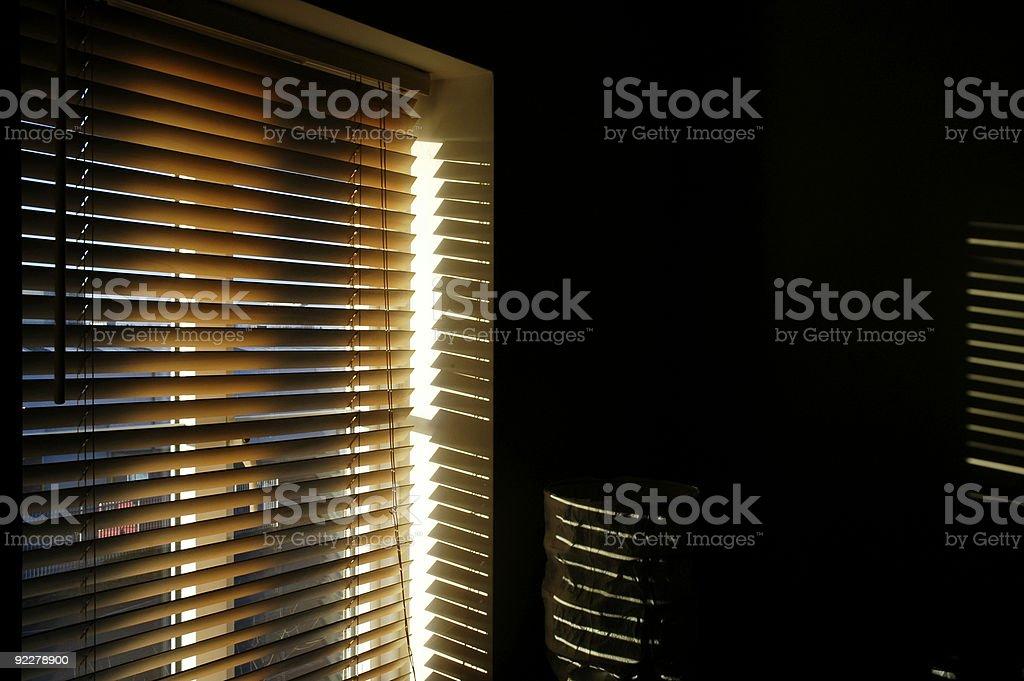 Blinding light royalty-free stock photo