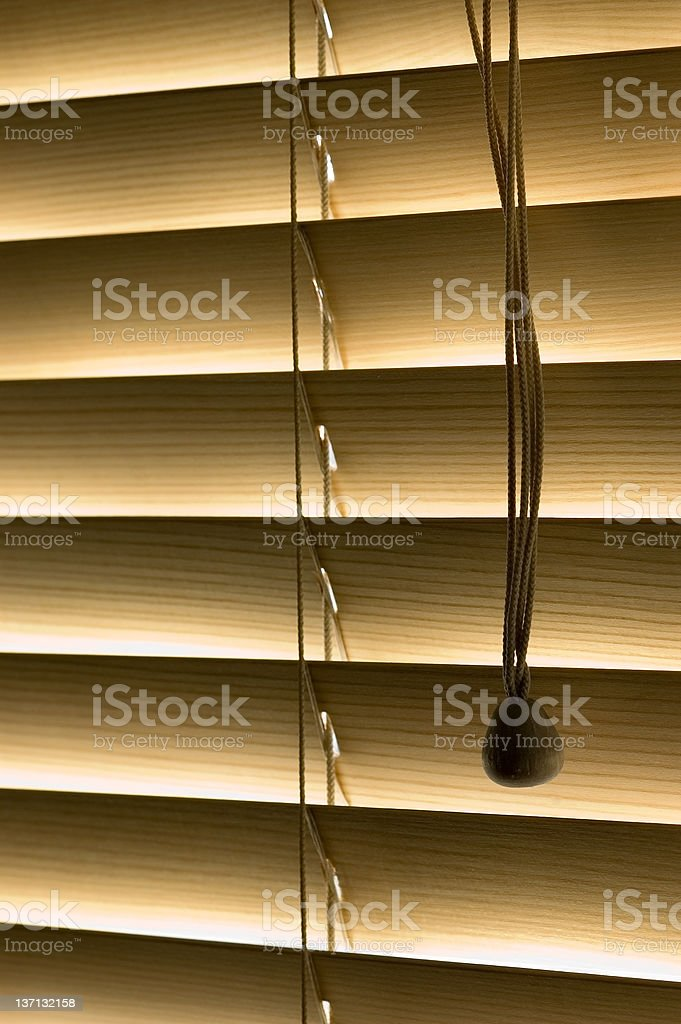 Blinds 2 royalty-free stock photo