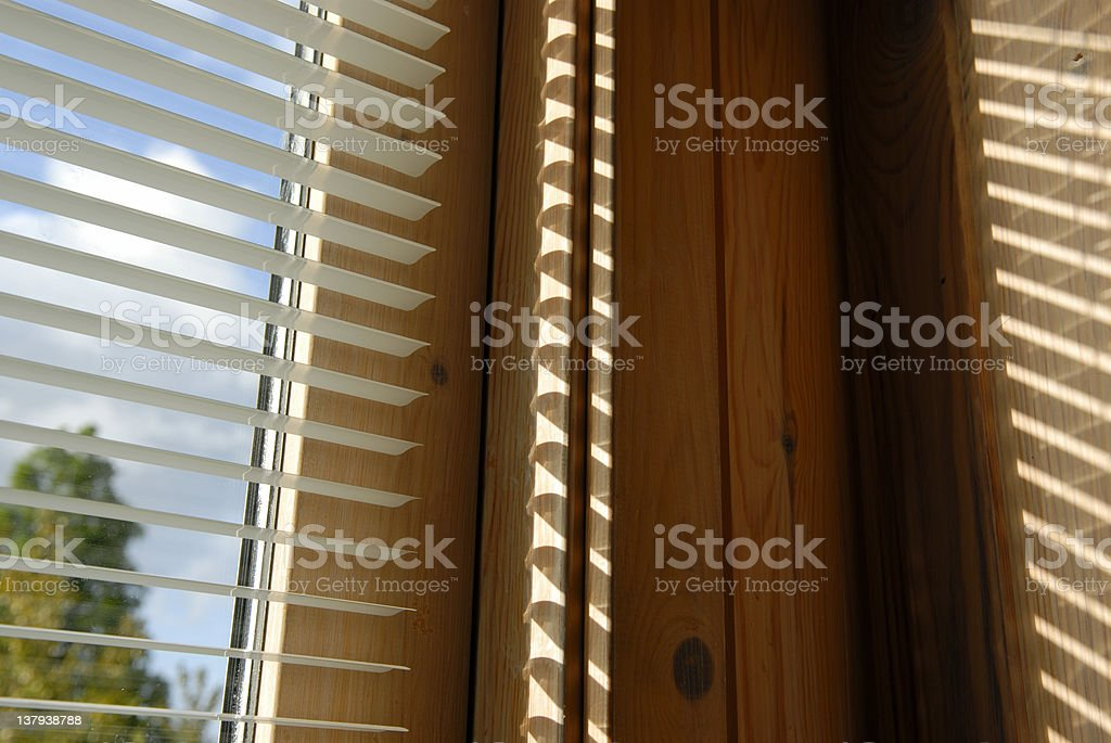Blinds and Shadows royalty-free stock photo