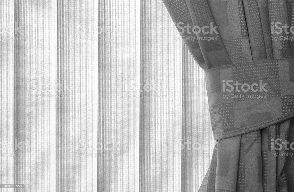 Blinds. stock photo