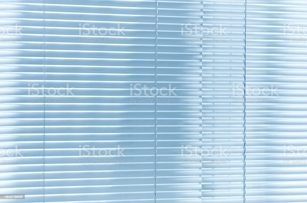 Blinds shiny yellow stock photo