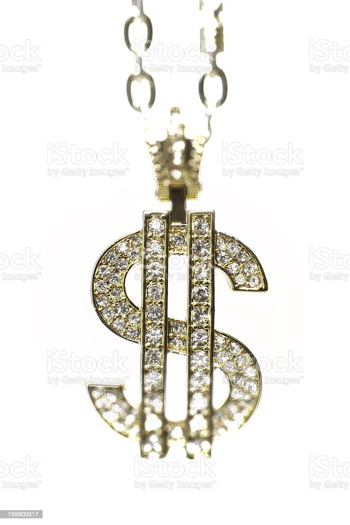 bling dollar | money concept stock photo