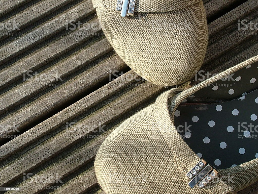 bling shoes stock photo