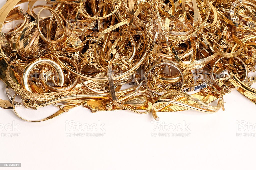 Bling with copy space stock photo
