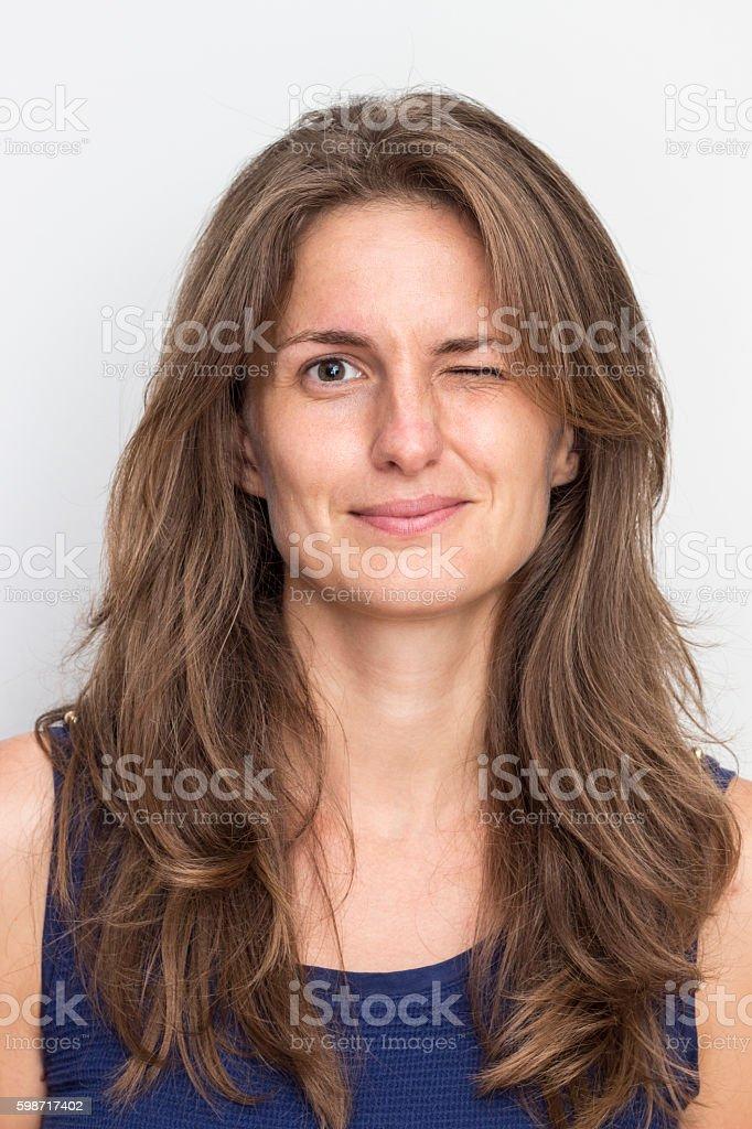 Blink Of An Eye stock photo